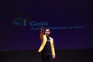 Rafa Durán, amenizando a Gala